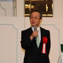 特別講演をする永廣信治徳島大学医学部教授