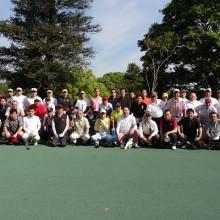 ゴルフコンペ参加者の皆さん