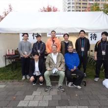 百道浜の救護ボランティアに参加した先生方