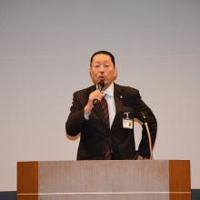 松岡学会長挨拶