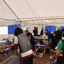 糸島の救護風景②