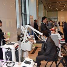 理学療法機器・衛生材料の展示風景②