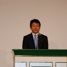 閉会の辞 小川副会長
