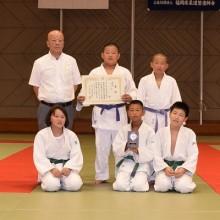 敢闘賞 稲築柔道教室