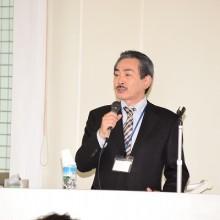 講義をする村田栄治副会長