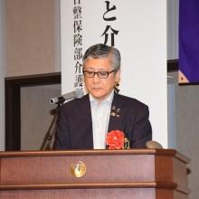 特別講演講師 衛藤正雄先生 講演風景