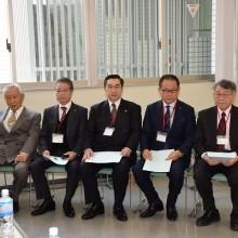 講師の先生方(右から)福島統先生・塩川哲也先生・富永敬二先生・鎌田実信先生・藤瀬武先生