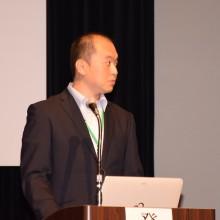 田代会員7月9日(日)九州学術大会での発表風景