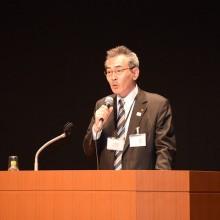 村田副会長・保険部長の講演風景