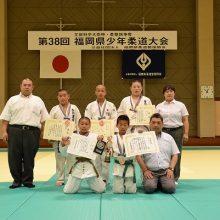 準優勝の宇美町柔道教室