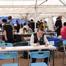 糸島の救護風景③