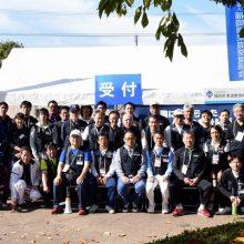 糸島の救護活動に参加した会員と役員の先生方
