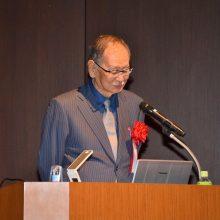 特別講演する加茂先生