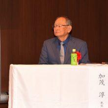 特別講師の加茂先生